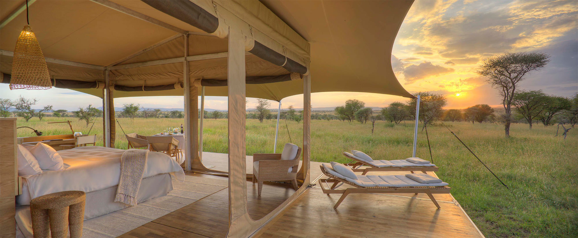 Luxury Safari accommodation